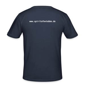 T-Shirt Operation Thunderbolt blue - Männer Slim Fit T-Shirt
