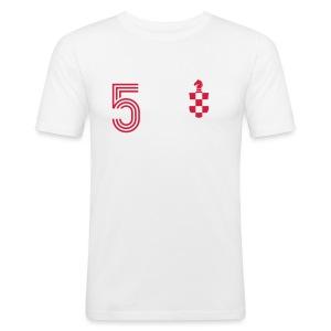 TAKTIC 5 - Männer Slim Fit T-Shirt