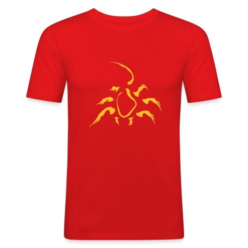 Männer Slim Fit T-Shirt - Tiere,Sternzeichen,Skorpion