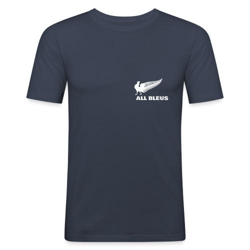 Tee shirt Rugby - All Bleus - T-shirt près du corps Homme