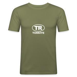 TR Türkiye - Männer Slim Fit T-Shirt
