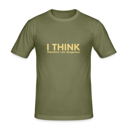 I THINK - Men's Slim Fit T-Shirt