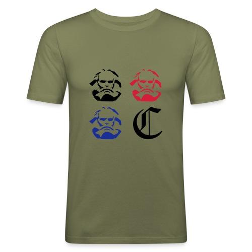 Charly4 - Männer Slim Fit T-Shirt