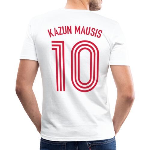 KAZUN MAUSIS 10 (Away) - Männer Slim Fit T-Shirt