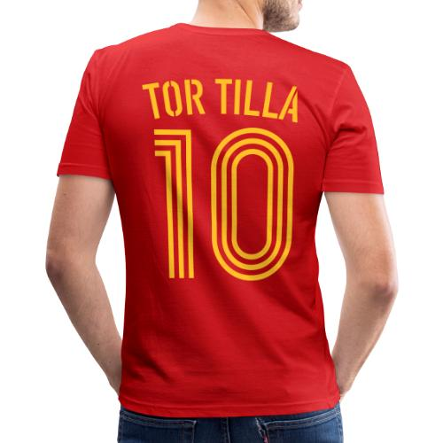TOR TILLA 10 (Home) - Männer Slim Fit T-Shirt
