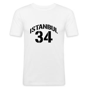 istanbul 34 - Männer Slim Fit T-Shirt