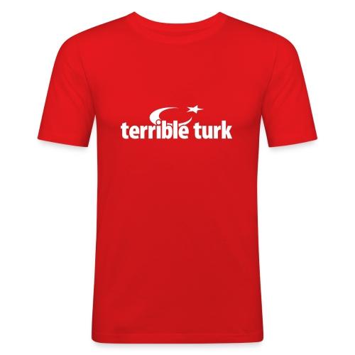 terrible turk - Männer Slim Fit T-Shirt