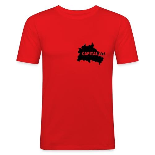 CAPITAList - Hauptstädter - Männer Slim Fit T-Shirt