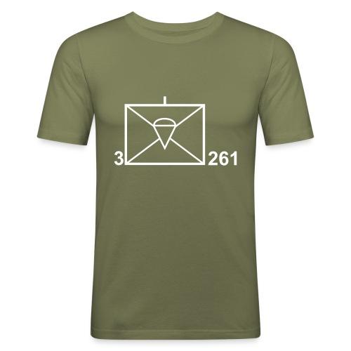 """Shirt """"Taktisches Zeichen"""" - Männer Slim Fit T-Shirt"""