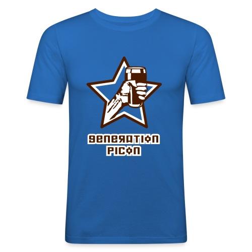 Génération Picon - Classic Bleu - T-shirt près du corps Homme