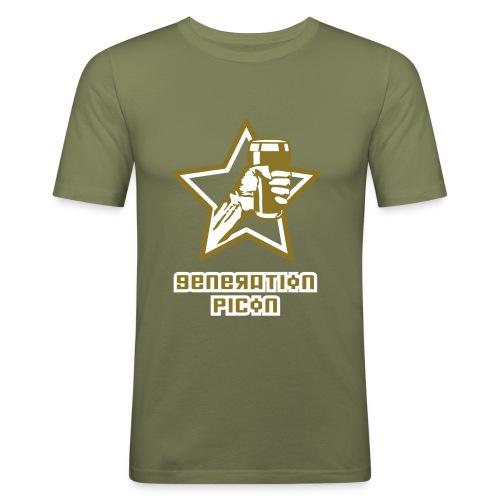Génération Picon - Classic Camel - T-shirt près du corps Homme