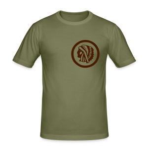 Indian Head (Men) - Männer Slim Fit T-Shirt