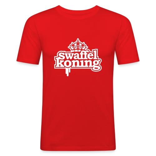 SwaffelKoning (seen @ Spuiten & Slikken BNN) - slim fit T-shirt