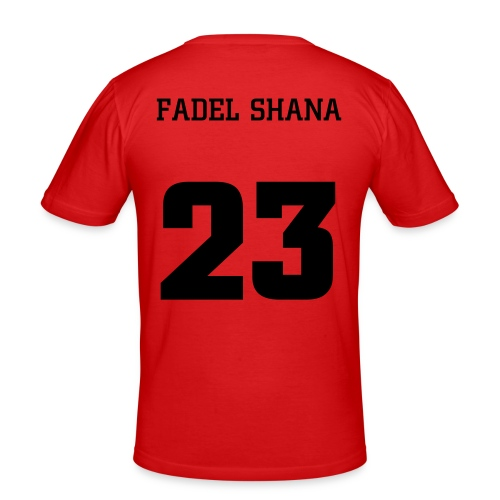 RIP Fadel - red - Men's Slim Fit T-Shirt