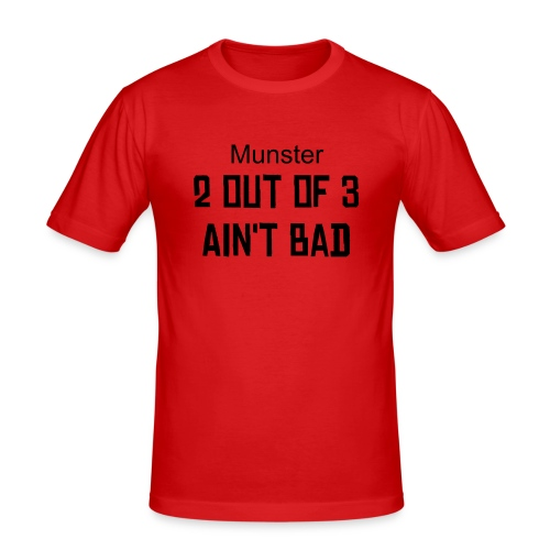 Munster rugby t-shirt - Men's Slim Fit T-Shirt
