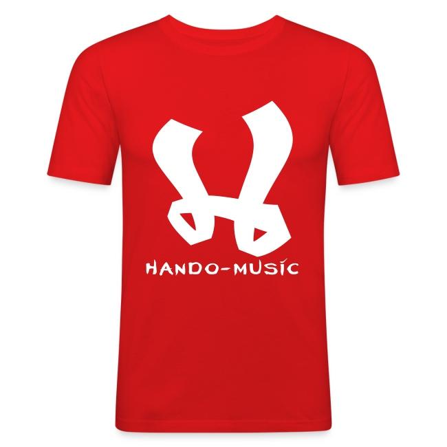 "T-Shirt ""Hando-Music"" (weiß/gold)"