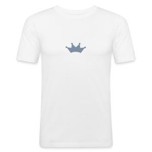 Hvit Pedahl - Slim Fit T-skjorte for menn