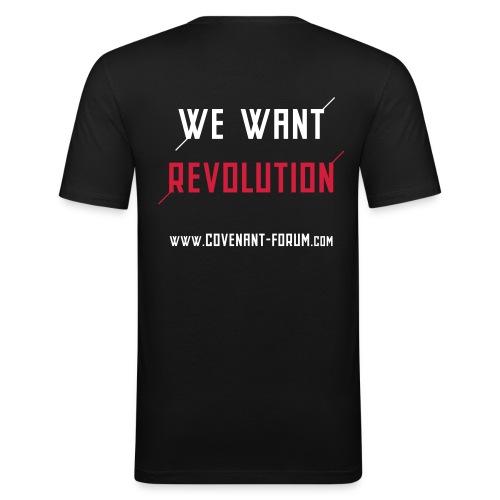 We Want 1 - Männer Slim Fit T-Shirt