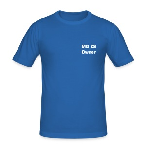 MG ZS Owner T-Shirt (blue) - Men's Slim Fit T-Shirt