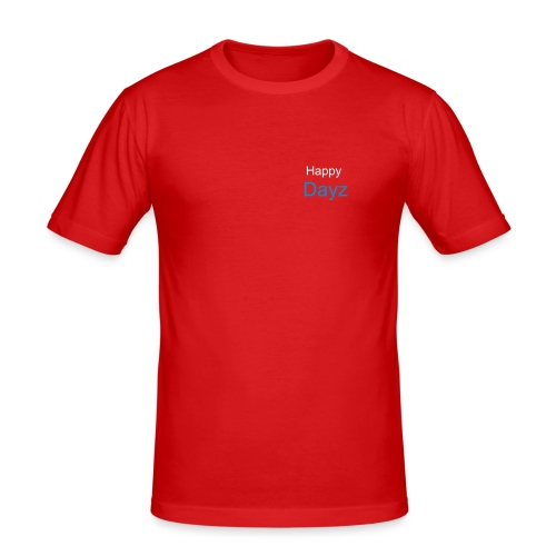Happy Dayz - Men's Slim Fit T-Shirt