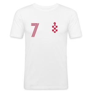 ZDRADEKIC 7 - Männer Slim Fit T-Shirt