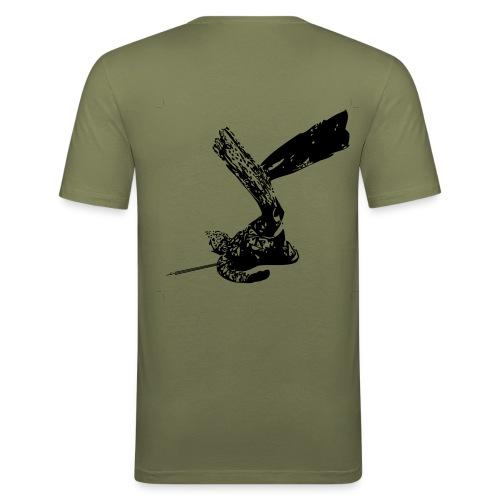 Eco-Maglietta oliva - Maglietta aderente da uomo