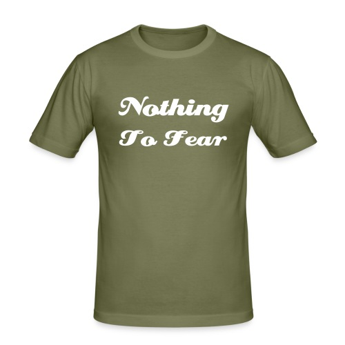 Nothing To Fear -Slim Fit - camel - Männer Slim Fit T-Shirt