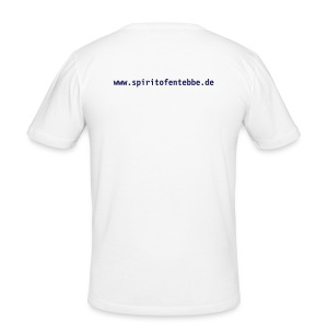 T-Shirt Daring Raid white - Männer Slim Fit T-Shirt