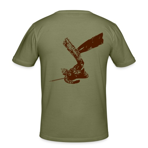Eco-Maglietta - Maglietta aderente da uomo