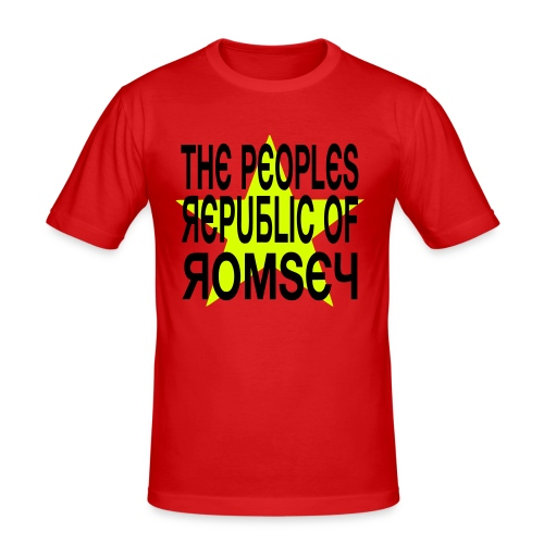 Republic Of Romsey - Men's Slim Fit T-Shirt
