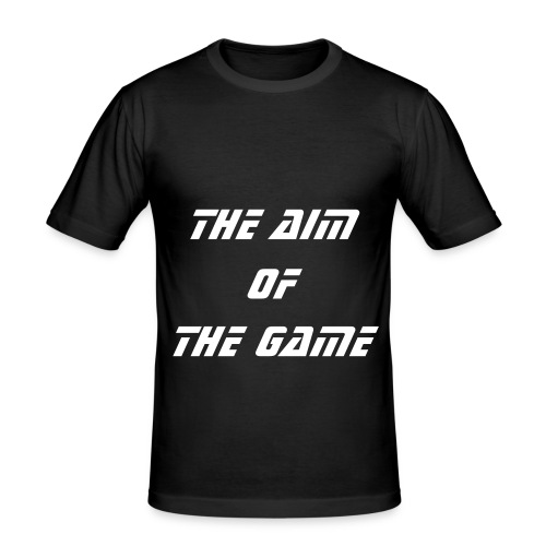 The Aim of The Game T-Shirt (Lawless) - Men's Slim Fit T-Shirt