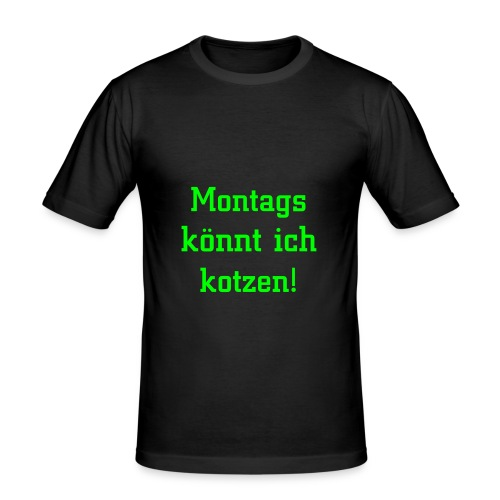Montags - Männer Slim Fit T-Shirt