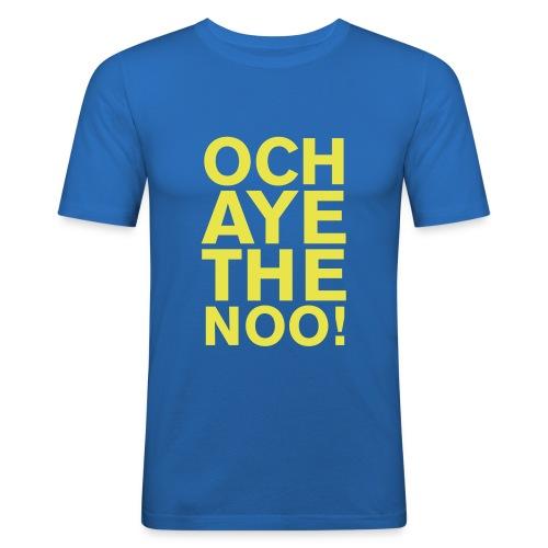 OCH AYE THE NOO! - Men's Slim Fit T-Shirt