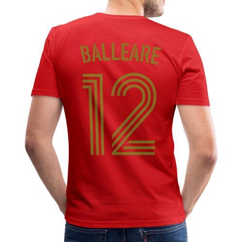 BALLEARE 12 (Home - Gold) - Männer Slim Fit T-Shirt