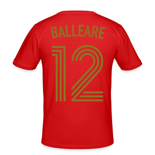 BALLEARE 12 (Home - Gold) - Männer Slim Fit T-Shirt