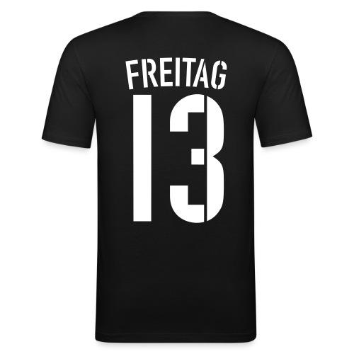 FREITAG 13 (Away) - Männer Slim Fit T-Shirt