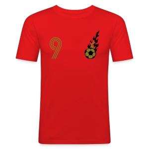 TOR PEDRO 9 (Home - Gold) - Männer Slim Fit T-Shirt