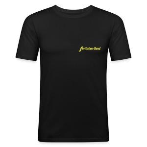 Männer-T-Shirt (schlank) - Männer Slim Fit T-Shirt