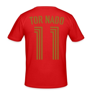 TOR NADO 11 (Home - Gold) - Männer Slim Fit T-Shirt