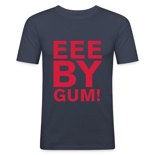 EEE BY GUM! - Men's Slim Fit T-Shirt
