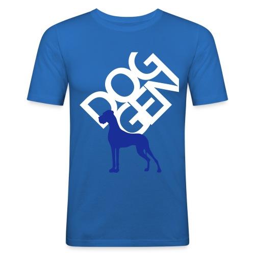 DOG GEN und Dogge - Männer Slim Fit T-Shirt