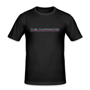 "Taffinator BLACK Slim ""Doolally"" - Men's Slim Fit T-Shirt"