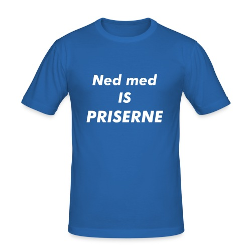 is priseren (ikke original) - Herre Slim Fit T-Shirt