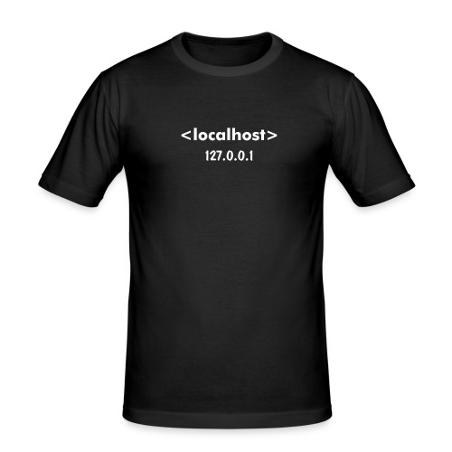 LOCALHOST - Men's Slim Fit T-Shirt