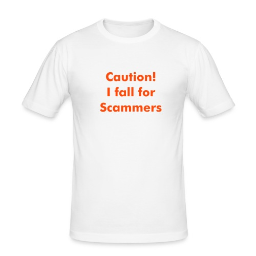 scammers - Men's Slim Fit T-Shirt