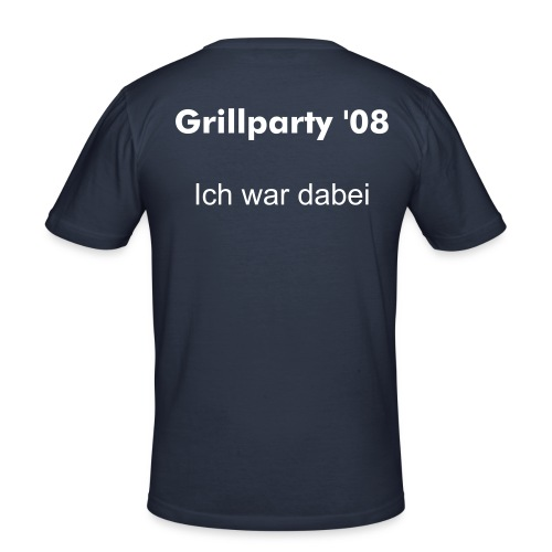 Grillparty m - Männer Slim Fit T-Shirt