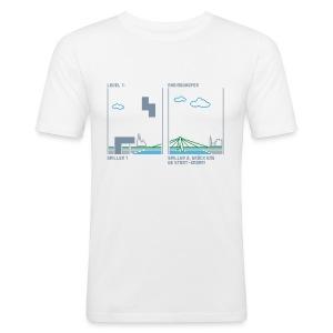 Koelntris - Männer Slim Fit T-Shirt