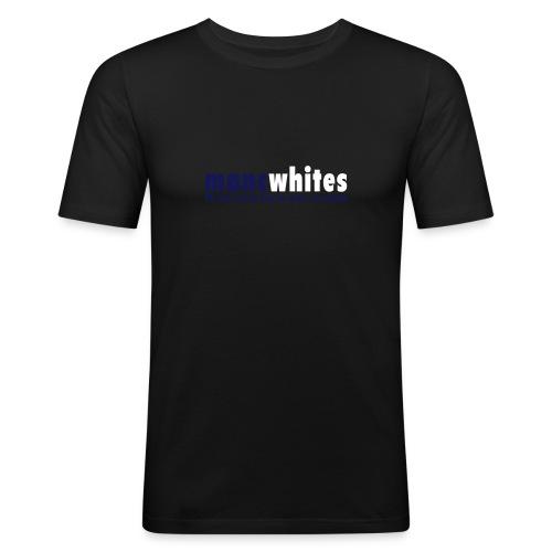 MANCWHITES 80 MILE ROUND TRIP FOR... - Men's Slim Fit T-Shirt