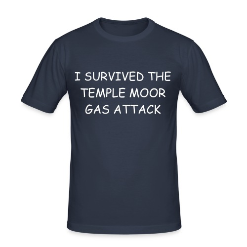 Gas Attack - Men's Slim Fit T-Shirt