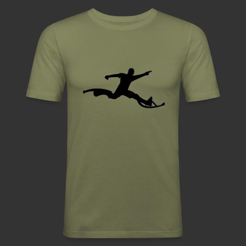 Powerriser - Männer Slim Fit T-Shirt